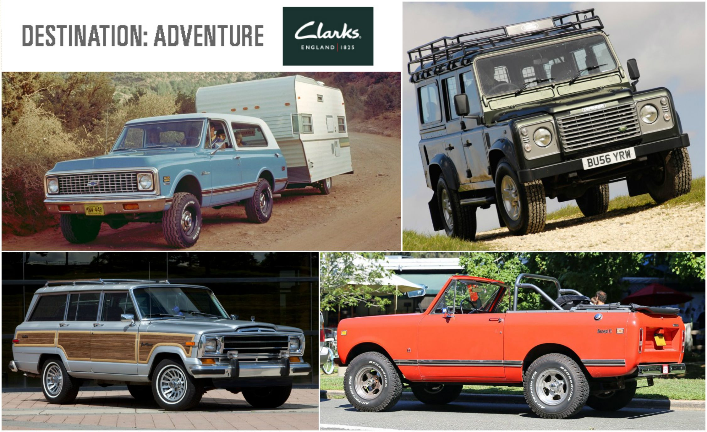 20 Old School f Road Rigs for Backcountry Adventure