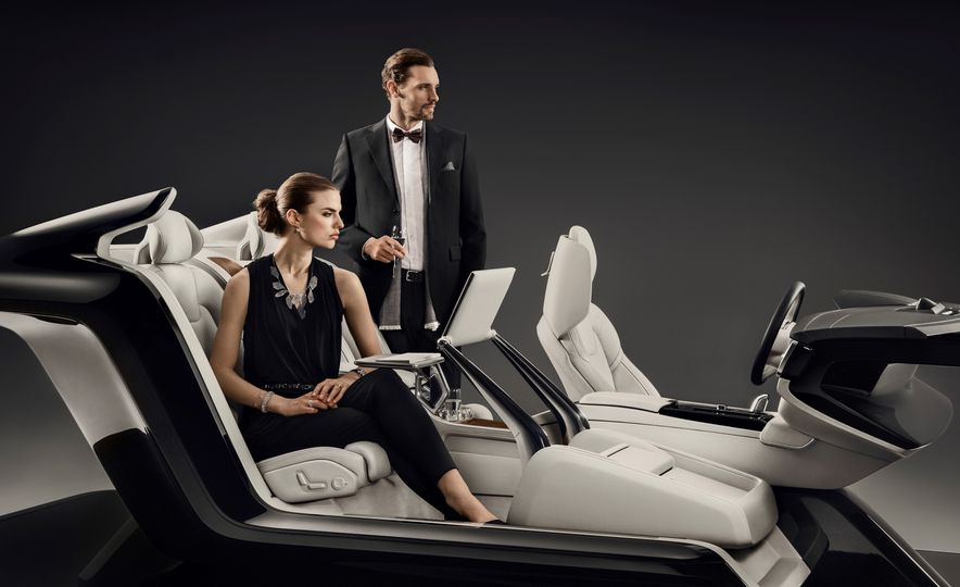 Volvo S90 Excellence interior concept - Slide 4