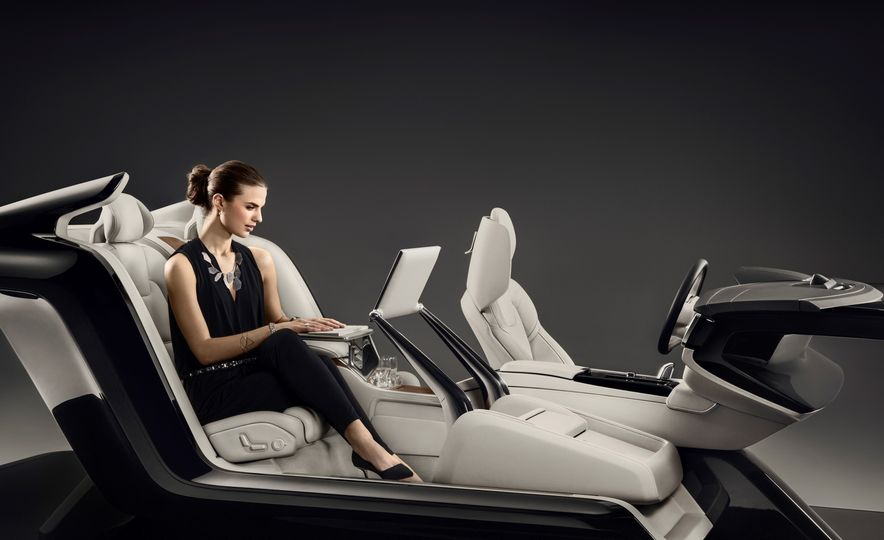 Volvo S90 Excellence interior concept - Slide 5