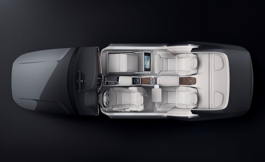 Volvo S90 Excellence interior concept - Slide 7