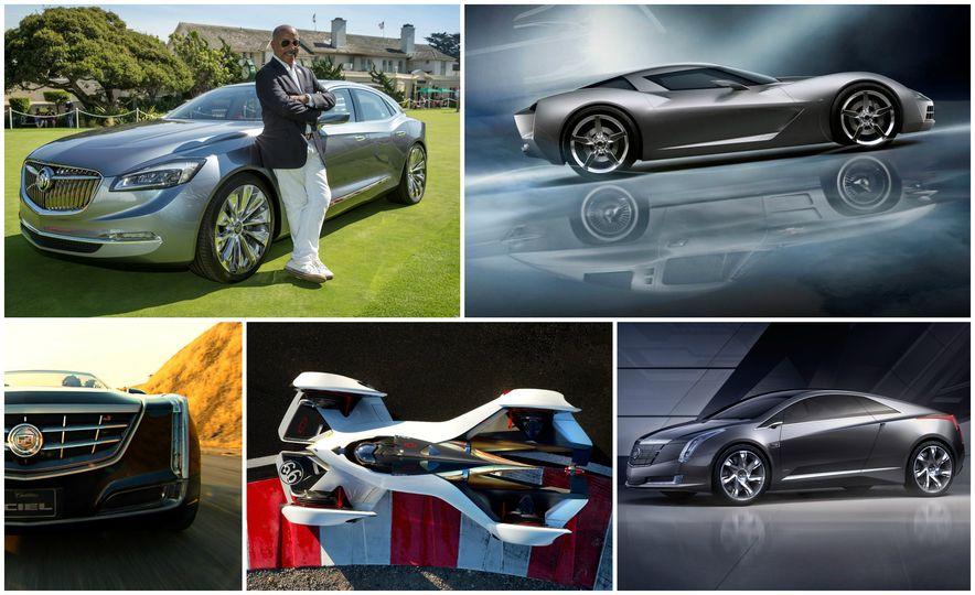 Our Favorites from General Motors VP of Design Ed Welburn's 44-Year Career - Slide 1