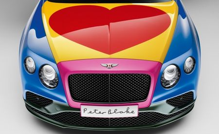 Groove Is in the Heart: Sir Peter Blake Designs a Bentley for Charity
