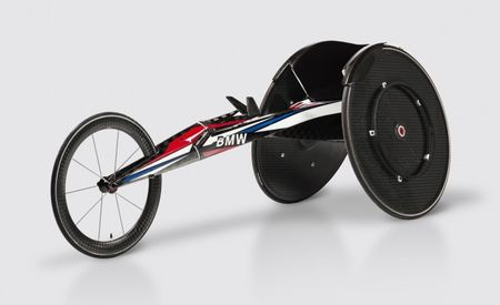This Is BMW's Carbon-Fiber Racing Wheelchair for Team USA