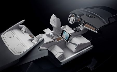 Fancier Than Ektorp: Volvo Previews New S90 Excellence Interior