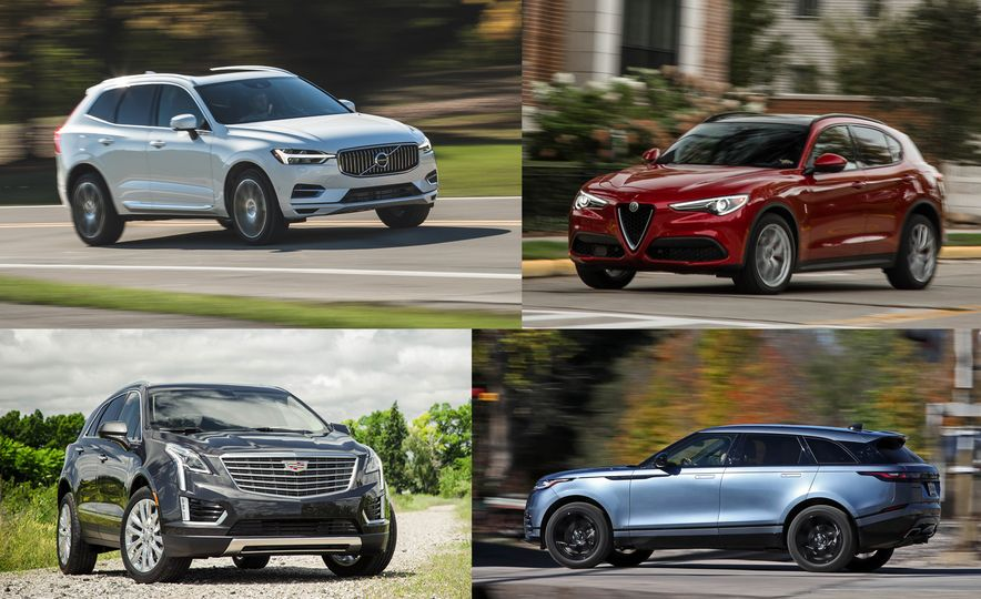 Jewel Boxes: Compact Luxury Crossovers Ranked from Worst to Best - Slide 1