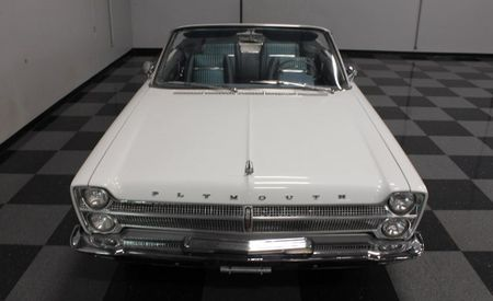 Pacing, Furiously: This '65 Plymouth on eBay Is a Lesser-Known Indy Pace Car