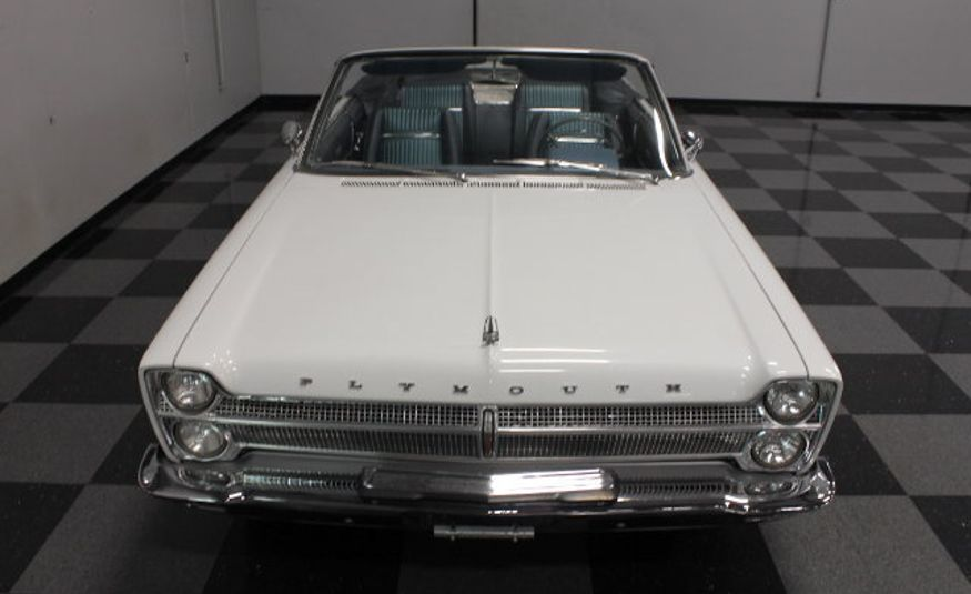 1965 Plymouth Fury Sport convertible pace car - Slide 1