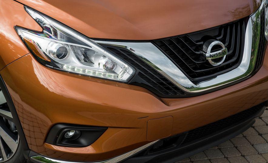 2015 Nissan Murano Platinum AWD - Slide 11