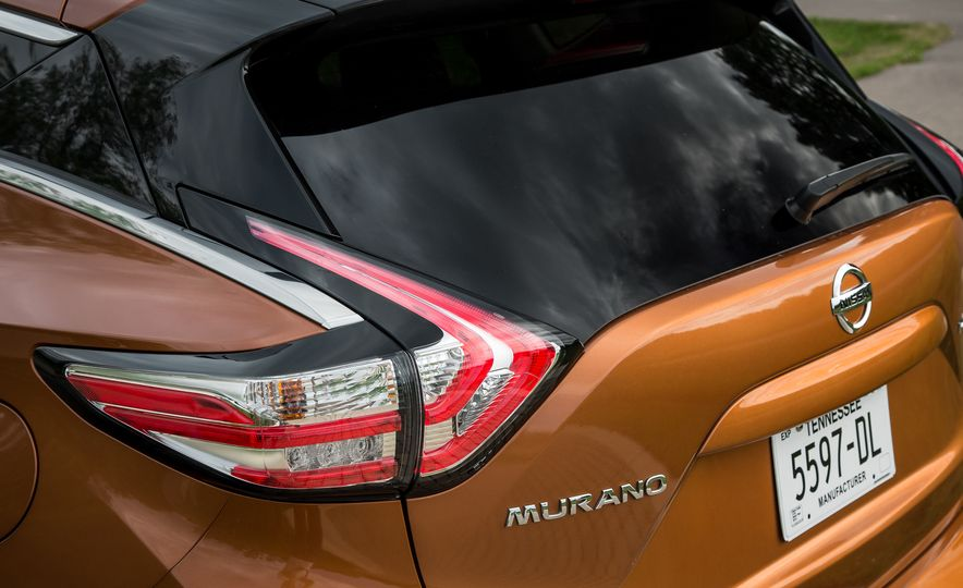 2015 Nissan Murano Platinum AWD - Slide 13