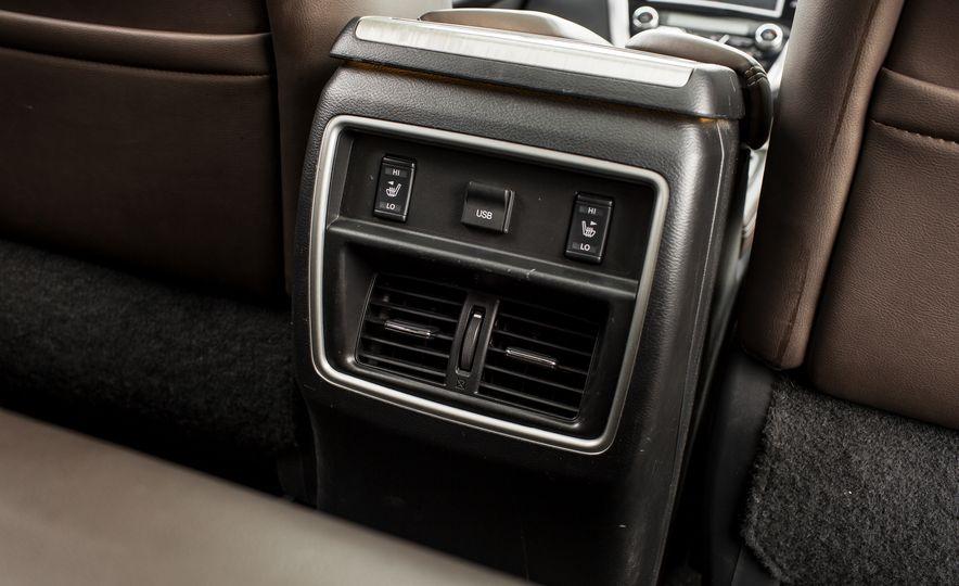 2015 Nissan Murano Platinum AWD - Slide 39