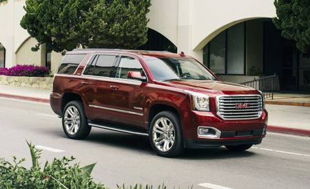 Not Quite a Denali: GMC Yukon SLT Premium Edition Ladles On the Chrome