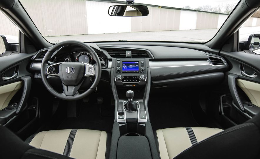 2016 Honda Civic coupe LX - Slide 25