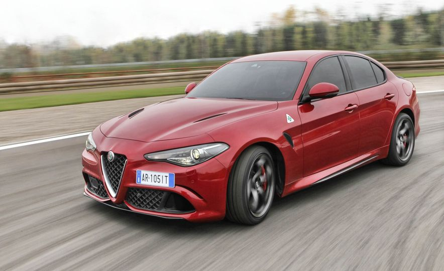 2017 Alfa Romeo Giulia Quadrifoglio - Slide 8