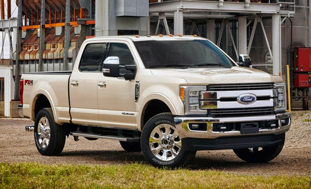 Aluminum-Body 2017 Ford F-350 Super Duty Adds at Least $425 to Base Price