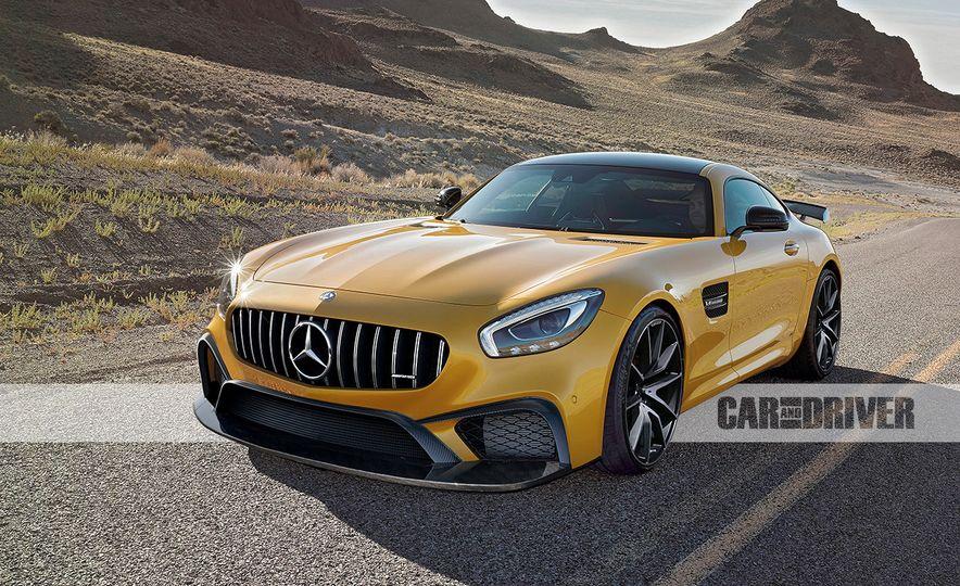 2017 Mercedes-AMG GT R (artist's rendering) - Slide 1