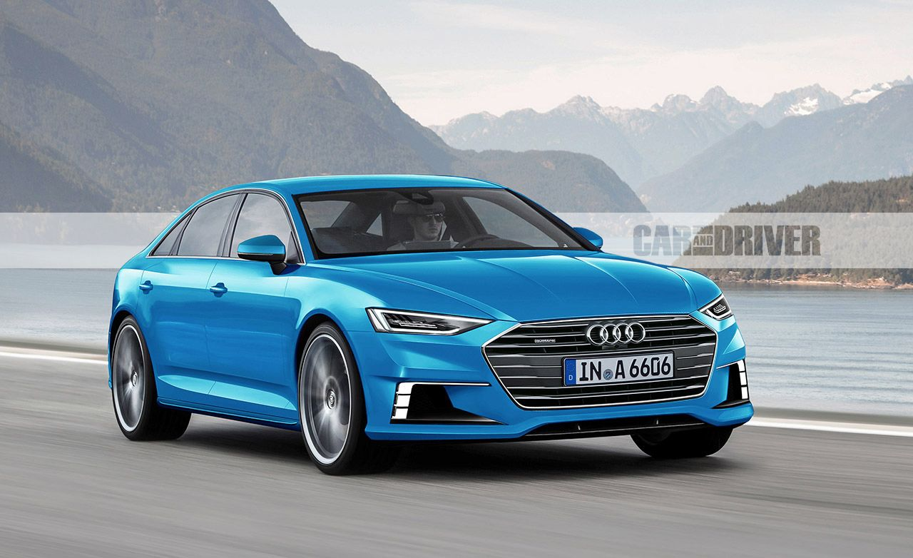 2018 Audi A6A7 artists rendering Pictures  Photo Gallery