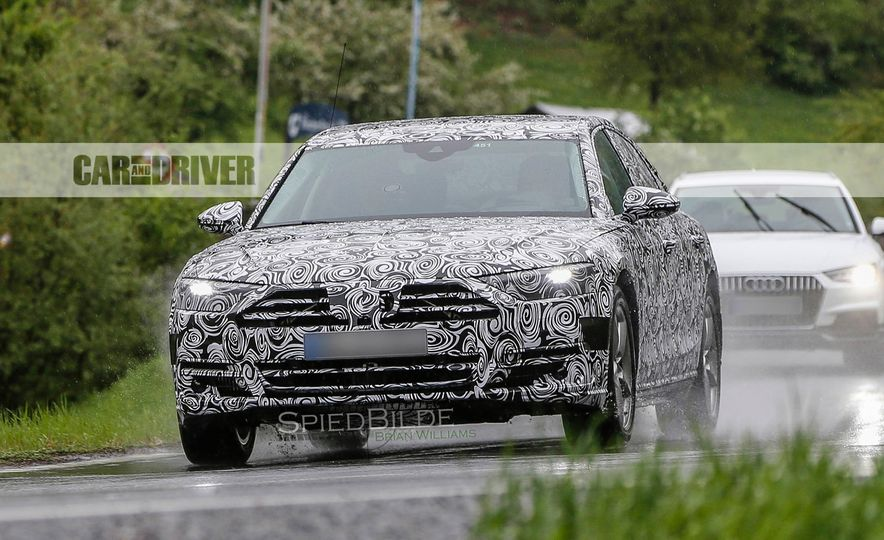 2018 Audi A8 (spy photo) - Slide 1