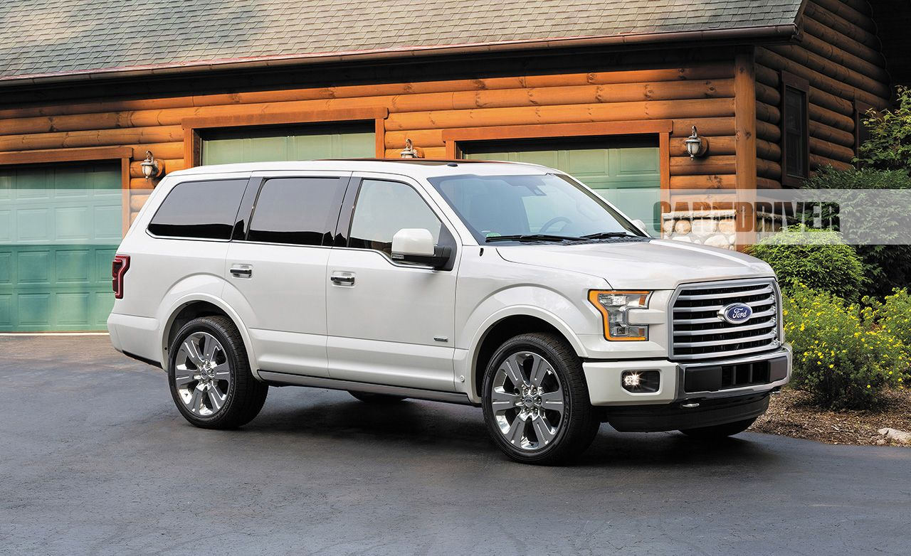 2018 Ford Expedition (artist's rendering) Pictures | Photo Gallery | Car and Driver