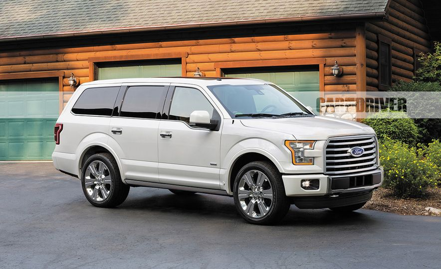 2018 Ford Expedition (artist's rendering) - Slide 1