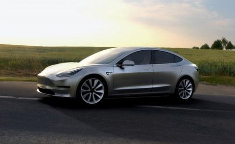 Tesla Model 3: Unofficial Specs Leaked