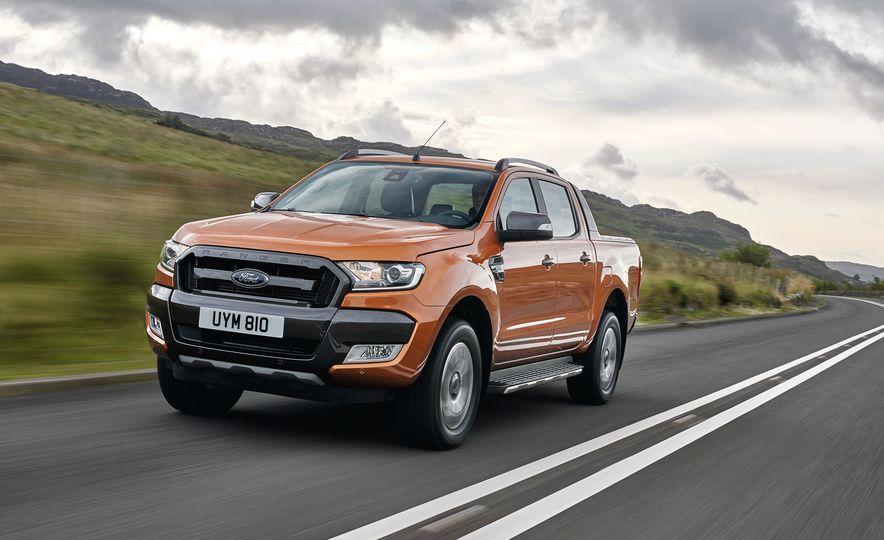 2019 Ford Ranger (Euro-spec) - Slide 1