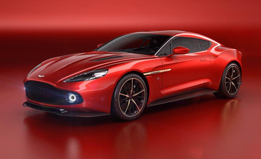 Aston Martin Vanquish Zagato concept - Slide 1