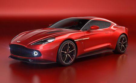 Catch Some Zs: Aston Martin, Zagato Collaborate on Vanquish-Based Z Machine