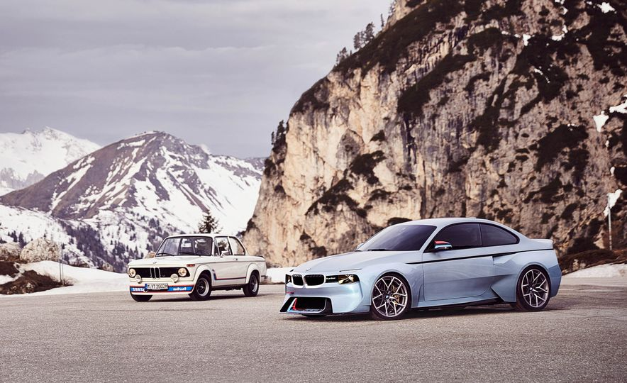 BMW 2002 Hommage concept - Slide 1