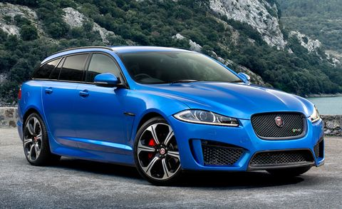Wagon Lust: Jaguar May Do an XF Wagon, Including an SVR Version