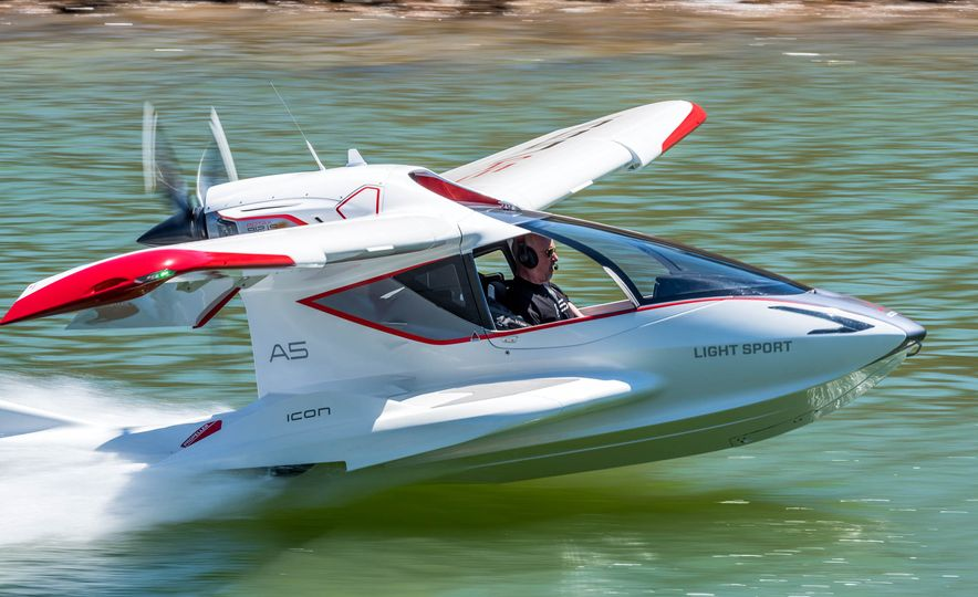 ICON A5 Amphibious Light Sport Aircraft - Slide 6