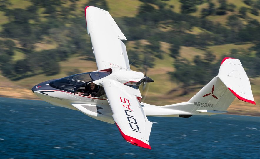 ICON A5 Amphibious Light Sport Aircraft - Slide 12