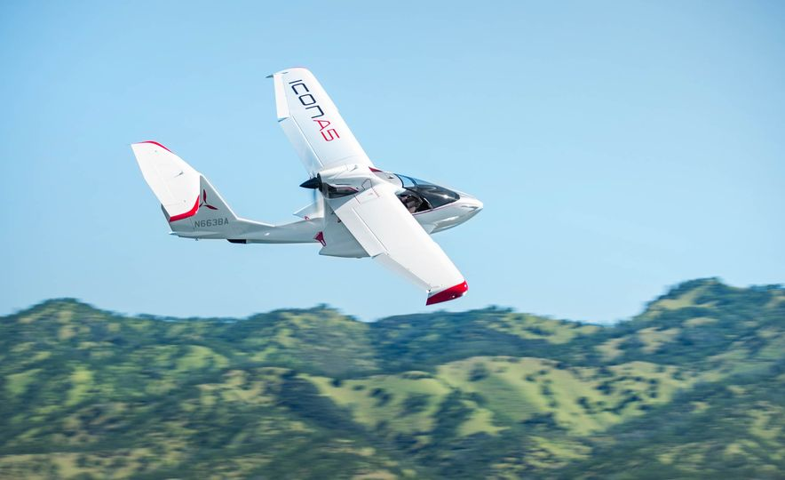 ICON A5 Amphibious Light Sport Aircraft - Slide 15