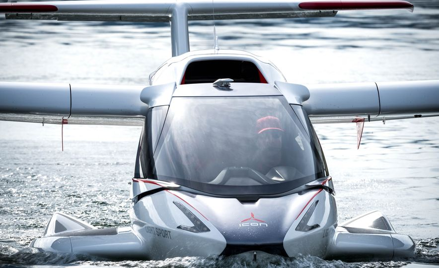 ICON A5 Amphibious Light Sport Aircraft - Slide 19