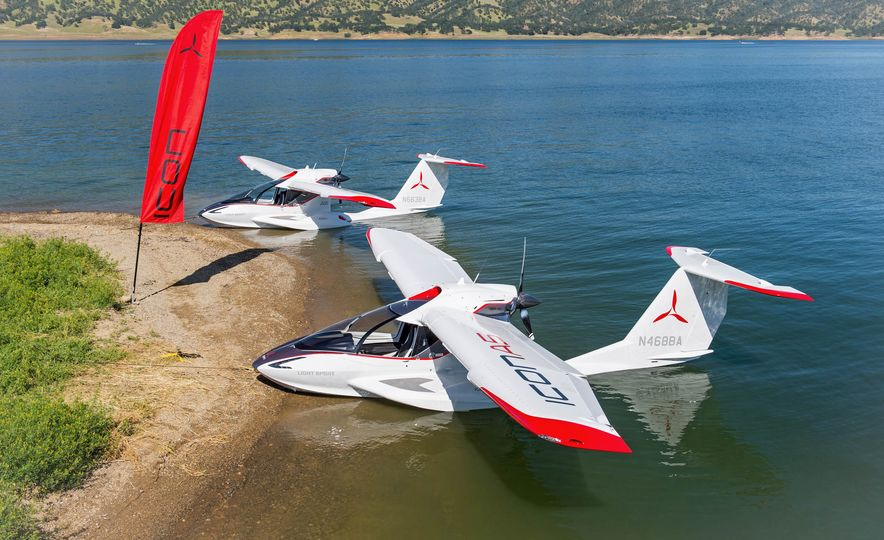ICON A5 Amphibious Light Sport Aircraft - Slide 20
