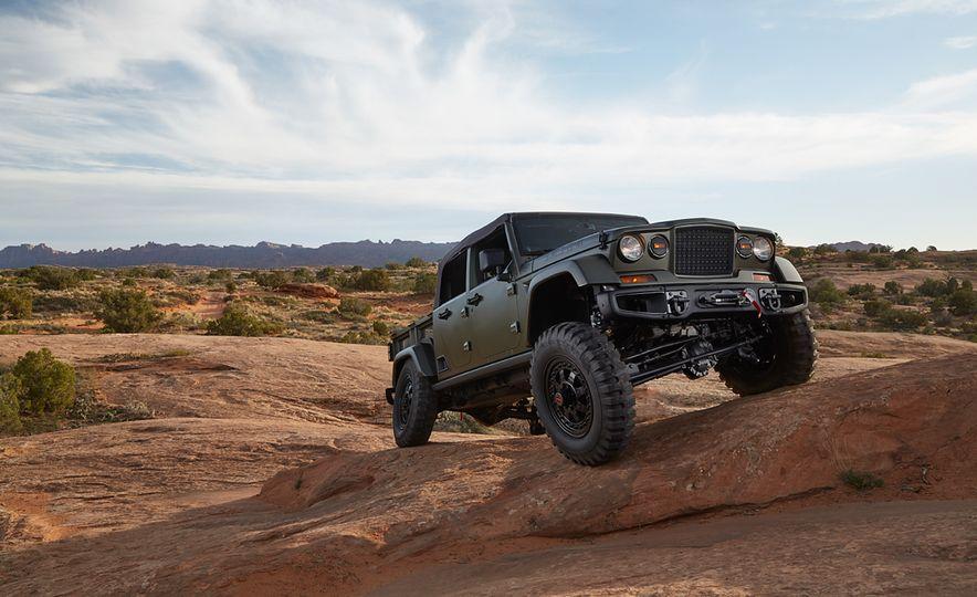Jeep Crew Chief 715 concept - Slide 8