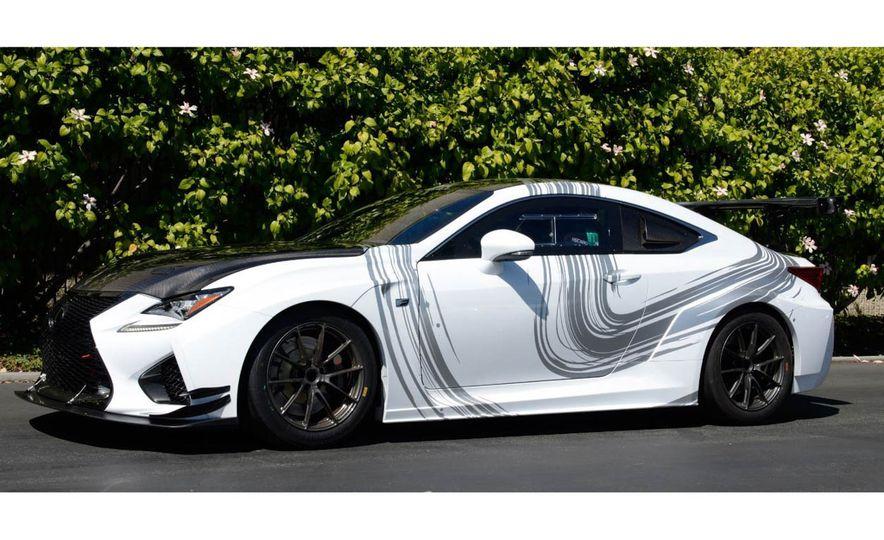 Lexus RC F GT concept - Slide 12