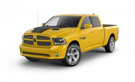 Ram Stinger! Humdinger! FCA Announces Yellow and Black Pickup!