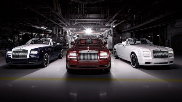 Whitewall Wonders: Rolls-Royce Phantom Zenith Coupe, Convertible Detailed
