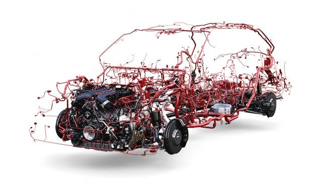 it takes a lot of wiring to keep a modern vehicle moving feature rh caranddriver com car wiring harness repair cost car wiring harness repair cost