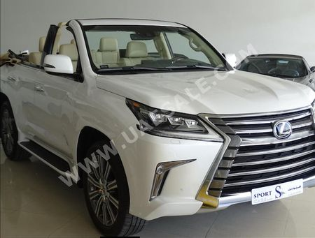 What Could Be Finer Than a Nissan Murano CrossCabriolet? This Lexus LX570 Convertible