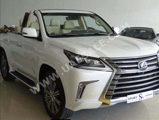 What Could Be Finer Than A Nissan Murano CrossCabriolet? This Lexus LX570 U2013  News U2013 Car And Driver