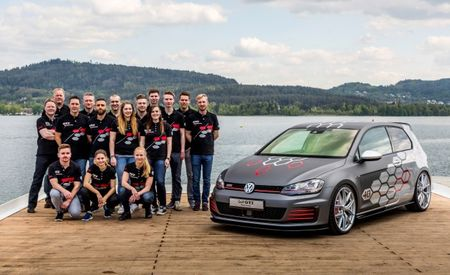 Herr Doktor Hexagon: VW Unveils Worthersee GTI, Golf R Variant Show Cars