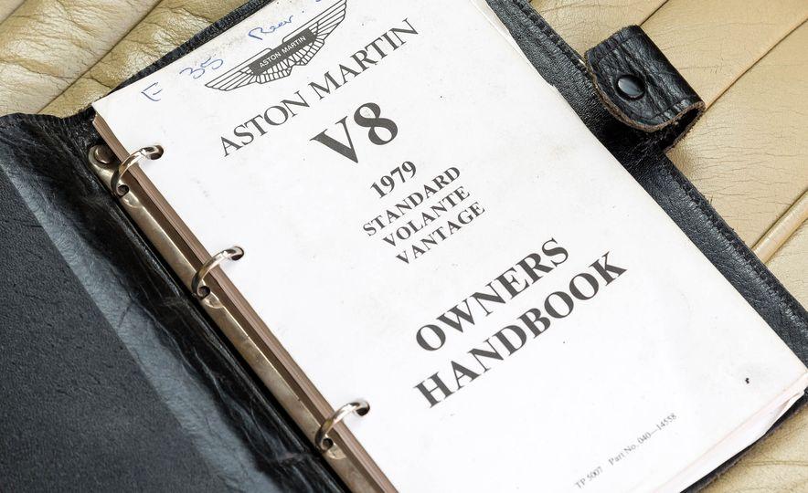 1980 Aston Martin V8 Vantage - Slide 52