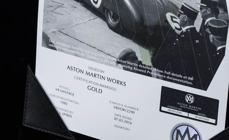 1980 Aston Martin V8 Vantage - Slide 57
