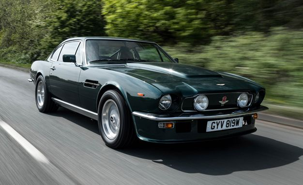 We Drive Aston Martin CEO Andy Palmers Vintage Vantage News Car - Aston martin vintage