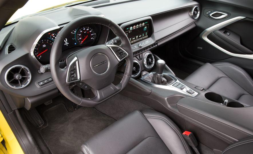 2016 Ford Mustang 2.3L EcoBoost and 2016 Chevrolet Camaro RS V-6 - Slide 7