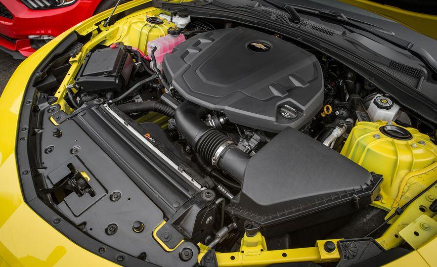 2016 Ford Mustang 2.3L EcoBoost and 2016 Chevrolet Camaro RS V-6 - Slide 8