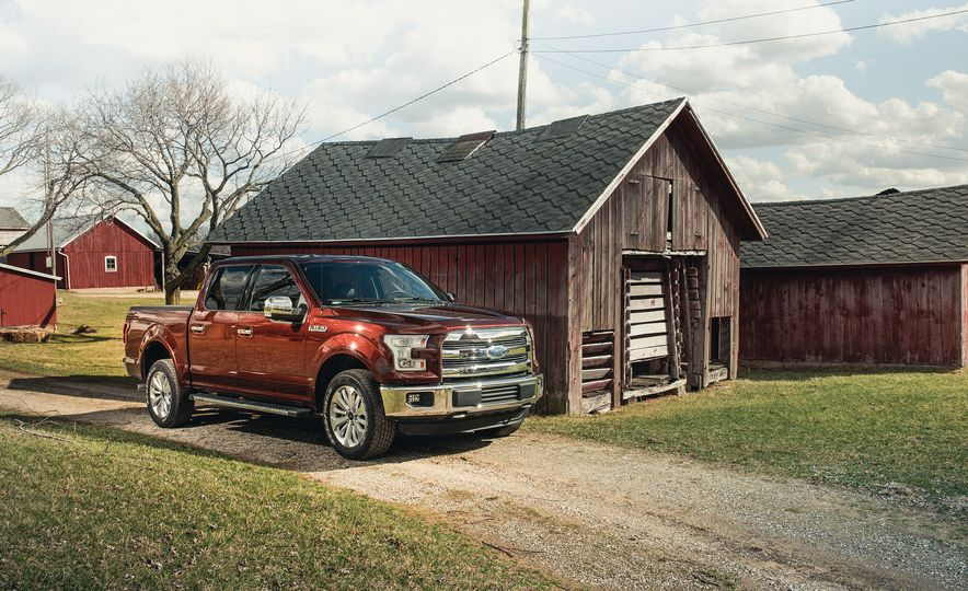 2016 Ford F-150 5.0L V-8 4x4 and F-150 3.5L EcoBoost 4x4 - Slide 9