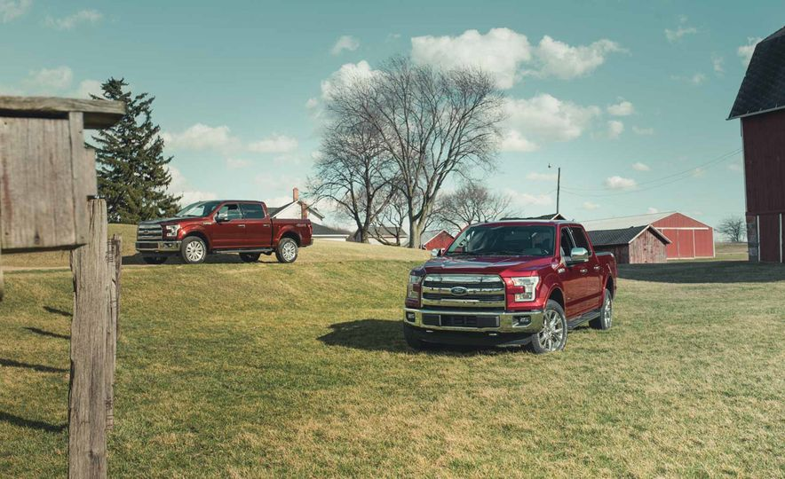2016 Ford F-150 5.0L V-8 4x4 and F-150 3.5L EcoBoost 4x4 - Slide 2