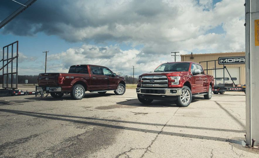 2016 Ford F-150 5.0L V-8 4x4 and F-150 3.5L EcoBoost 4x4 - Slide 3